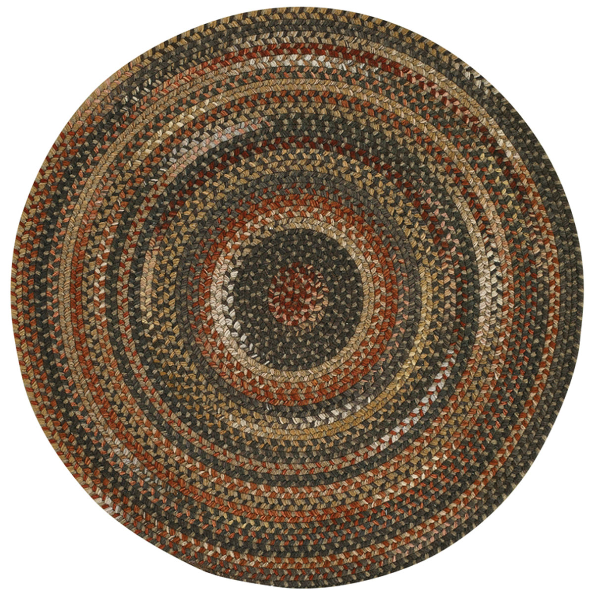 Country Home Decor Braided Wool Rugs By Capel