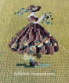 Velma Woodring's needlepoint https://jollettetc.blogspot.com