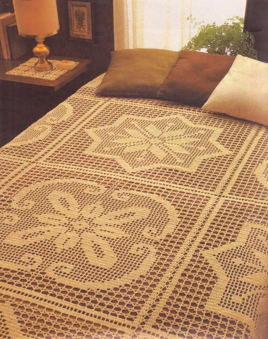 Crochet 2 Bedspread