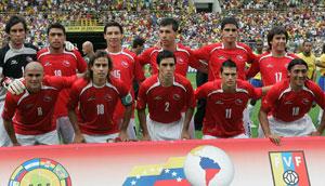 Formación de Chile ante Brasil, Copa América 2007, 1 de julio
