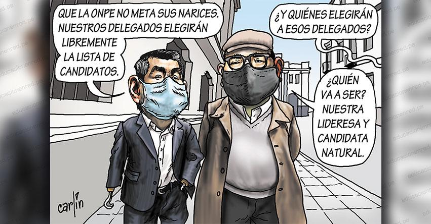 Carlincaturas Jueves 23 Julio 2020 - La República