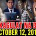 Nakakagulat Na Balita Ngayon October 12, 2017 - Ping Lacson | Paolo Duterte | Tatay Digong