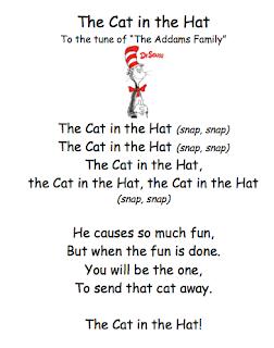 Cat In Hat Birthday Poem