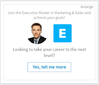 Dynamic Ads auf LinkedIn.