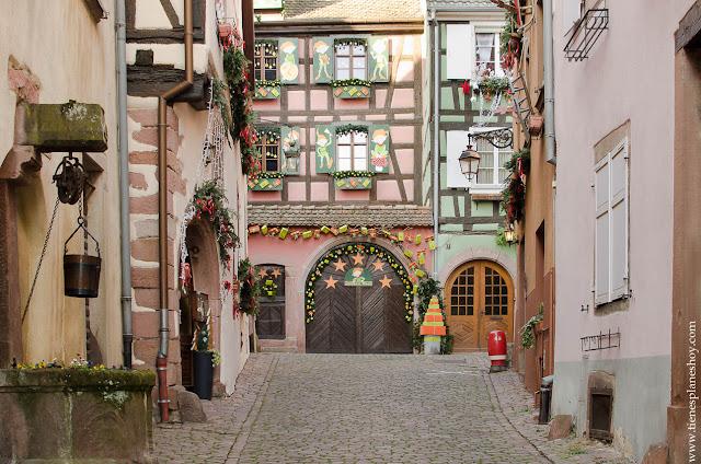 Riquewihr viaje Alsacia