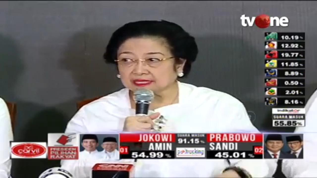 Ekspresi Megawati Beda Telak Antara Pilpres 2014 dan 2019, Ada Apa?