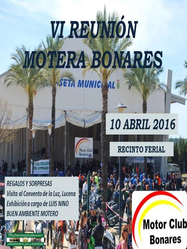 Calendario concentraciones Andalucía 2016 Bonares%2B2016