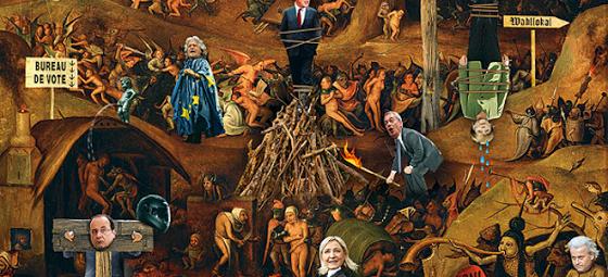 Economist: «Μετά τις ευρωεκλογές περιμένει η κόλαση τους Eυρωπαίους πολιτικούς»