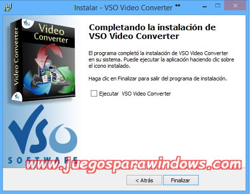 VSO Video Converter v1.5.0.4 Multilenguaje ESPAÑOL Convierte Archivos De Video a Otros Formatos (F4CG) 3