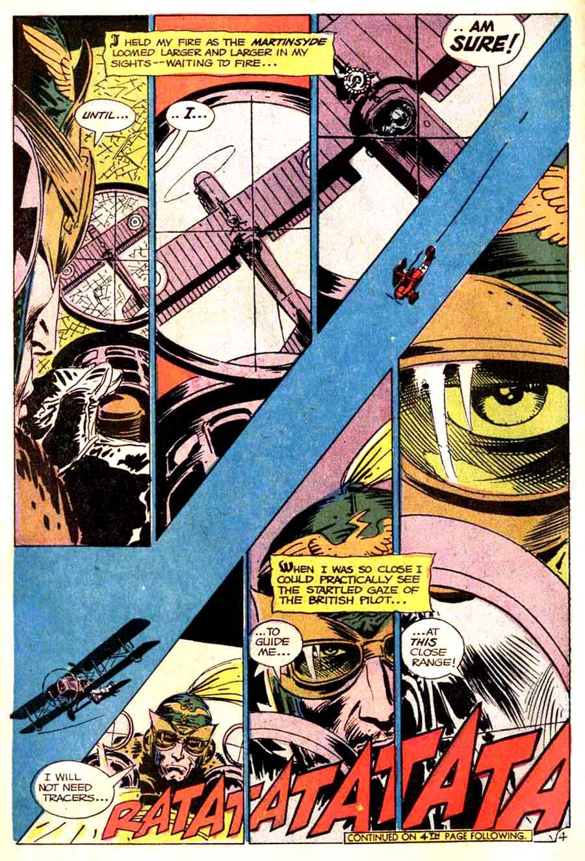 Star Spangled War v1 #139 enemy ace dc comic book page art by Joe Kubert