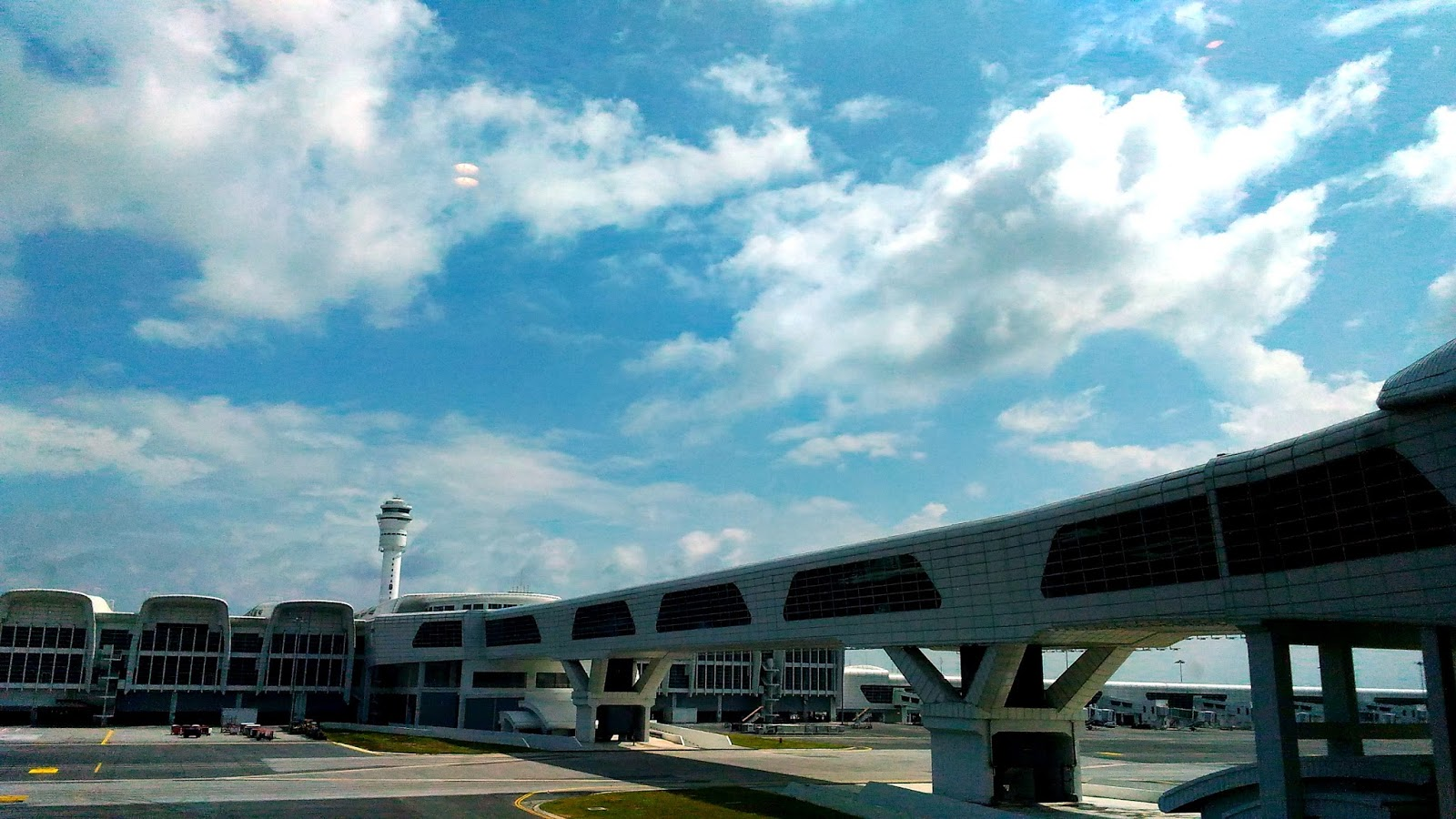 Officially opened in May, 2014, KLIA 2 was designed to be Malaysia's next generation international airport hub to meet the emerging low cost travel sector capable of servicing 45 million passengers a year in total comfort.