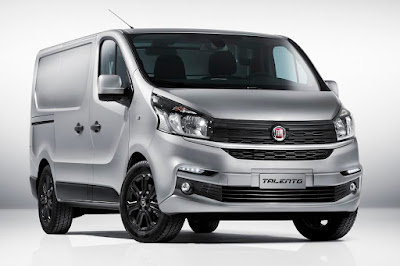 Fiat Talento Panel Van (2017) Front Side
