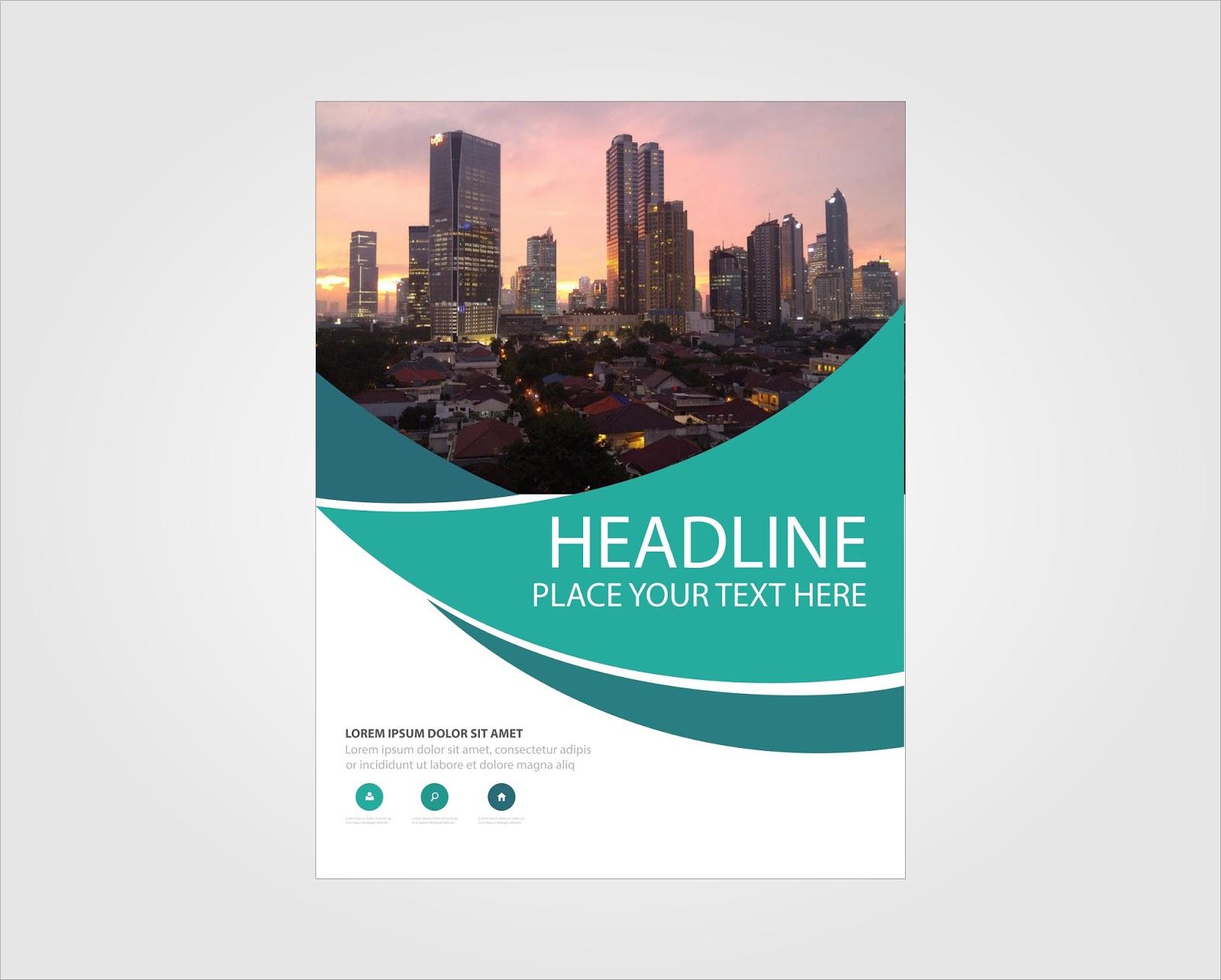 Book Cover Template Coreldraw : Free download book cover jakarta guru corel