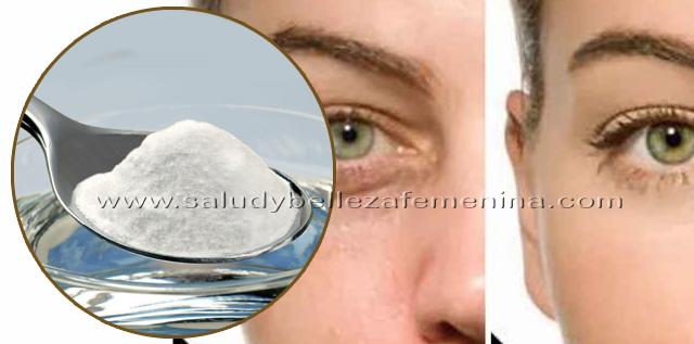 Bicarbonato de sodio para atenuar ojeras, hoy te  traemos una receta que  eliminará las ojeras,  la fatiga, falta de sueño, la soda eliminará las ojeras y bolsas bajo los ojos.