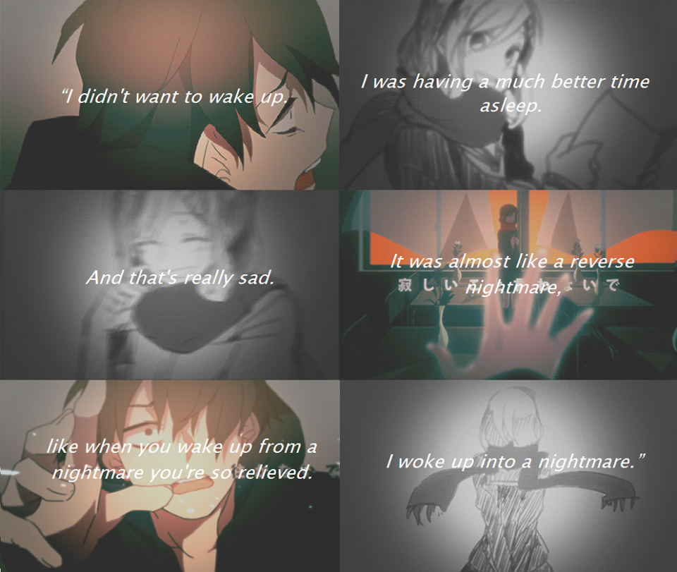 Anime Sad Girl Quotes Pics: My Thought: Sad Anime Quotes