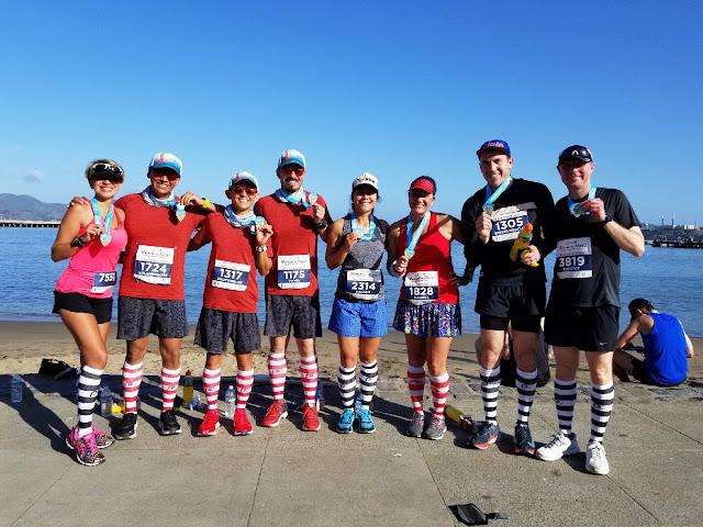 Rock'n'Roll San Francisco Half Marathon werunsocial crew