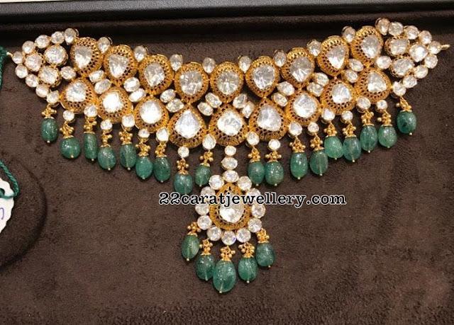 Moissanite Stones Chokers by Premraj Jewellers