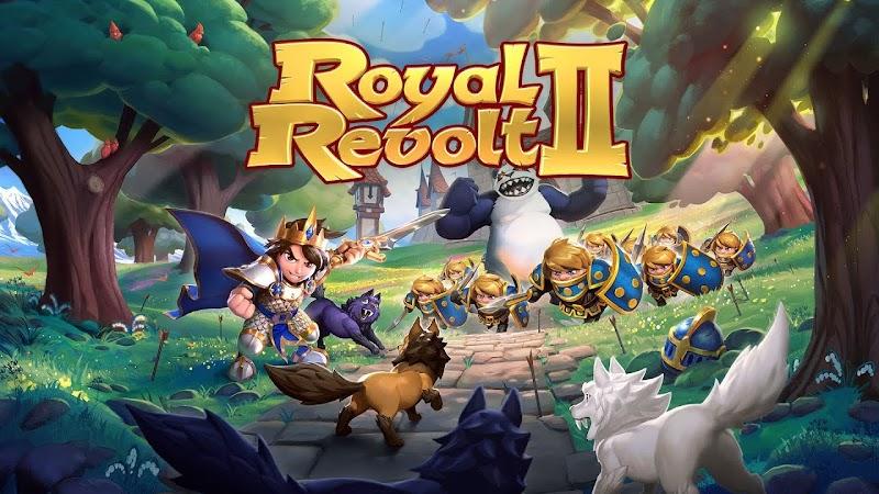 Royal Revolt 2: Tower Defense RPG and War Strategy v4.4.1 Apk Mod