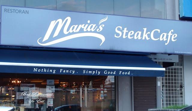 Bangsar Food Maria Steak Cafe Ipoh