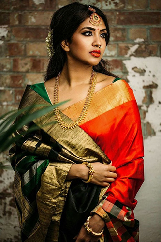 2d60f435c5 Wedding Tones: Indian Sarees to Ace Up Every Wedding Occasion