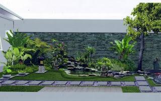 Tukang pembuat taman minimalis murah