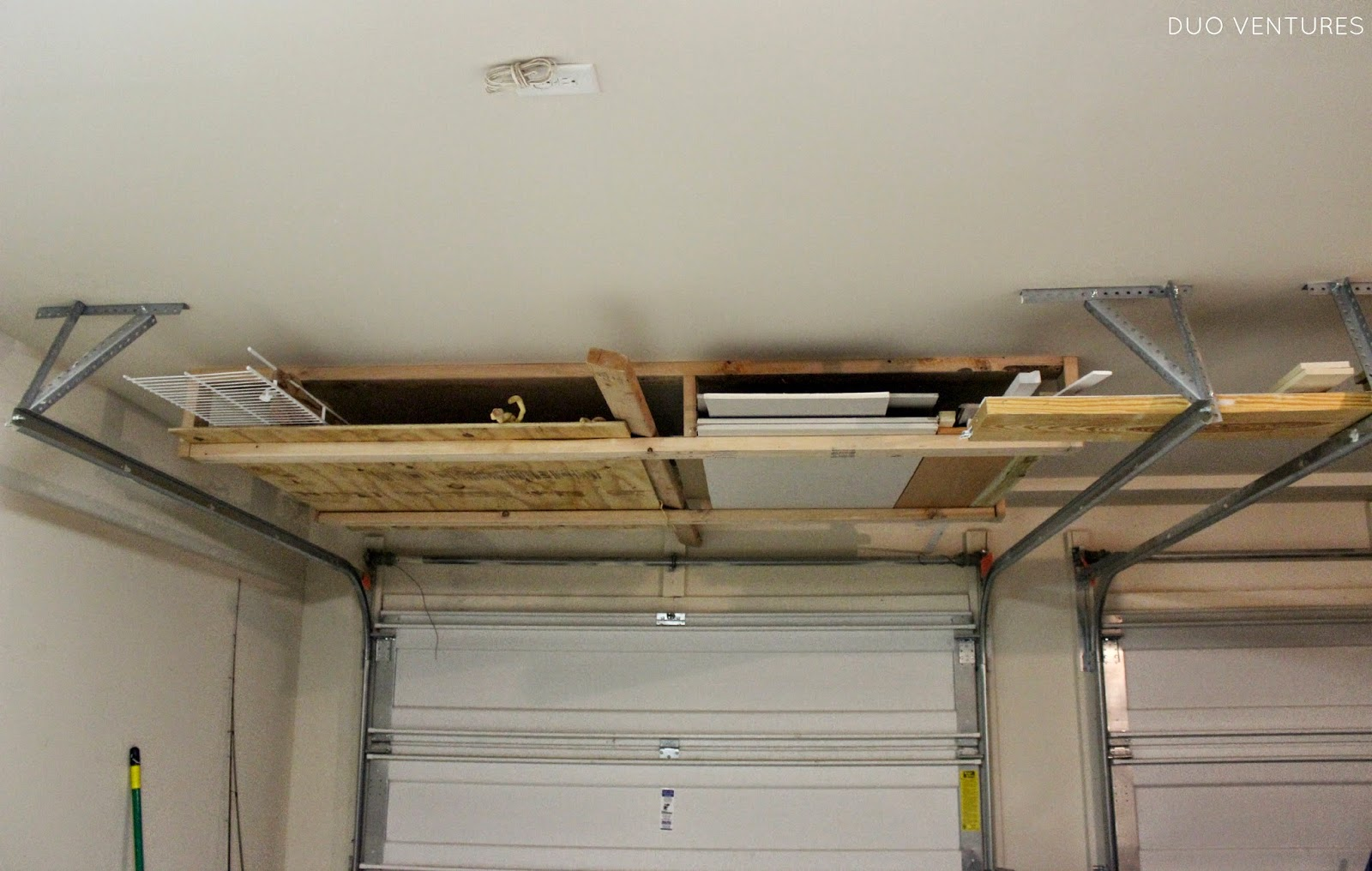 Duo Ventures The Garage Ceiling Storage