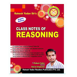Rakesh Yadav Class Notes of Reasoning [English Medium]