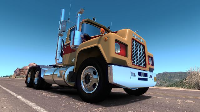 ats mack r series truck mod screenshots 1