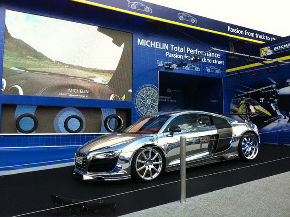Chói chang với MTM Audi R8 bóng nhoáng gần 800 mã lực