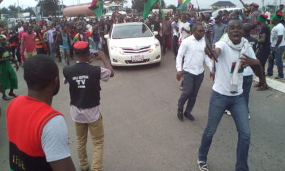 Owerri Standstill as Nnamdi Kanu shuts down Imo State