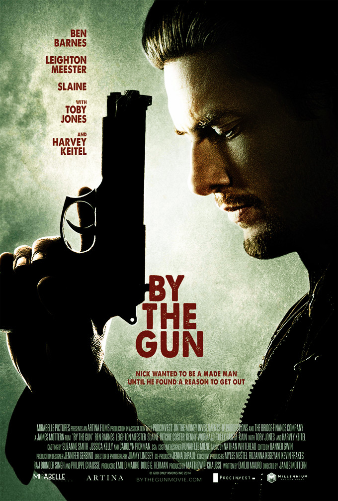By The Gun Movie Film 2014 - Sinopsis (Ben Barnes, Toby Jones)