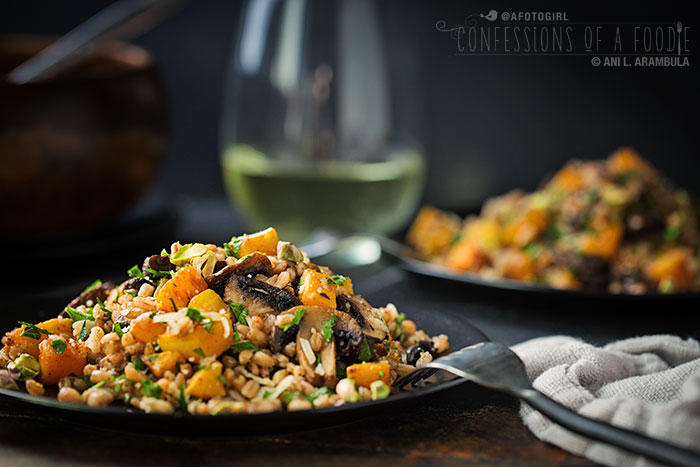 Confessions of a Foodie: Meatless Monday: Warm Farro Salad ...