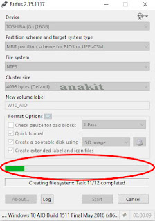 Proses Membuat Flashdisk Bootable (intaller windows dengan flashdisk)