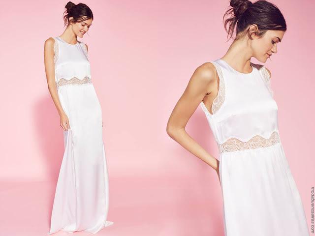 Vestidos primavera verano 2018 ropa de mujer moda 2018.