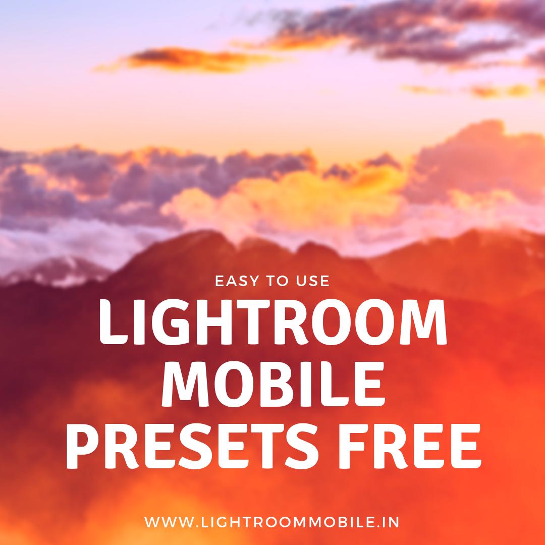 Lightroom mobile presets | Lightroom presets free download zip
