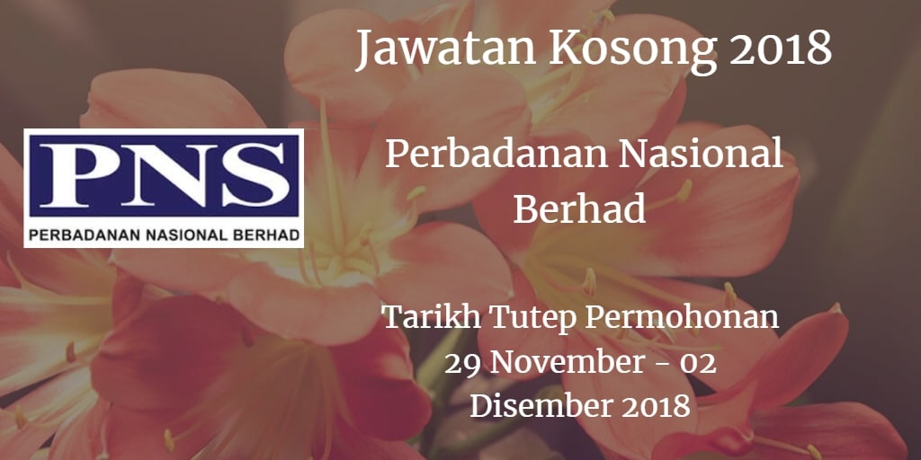 Jawatan Kosong PNS 25 November - 02 Disember 2018