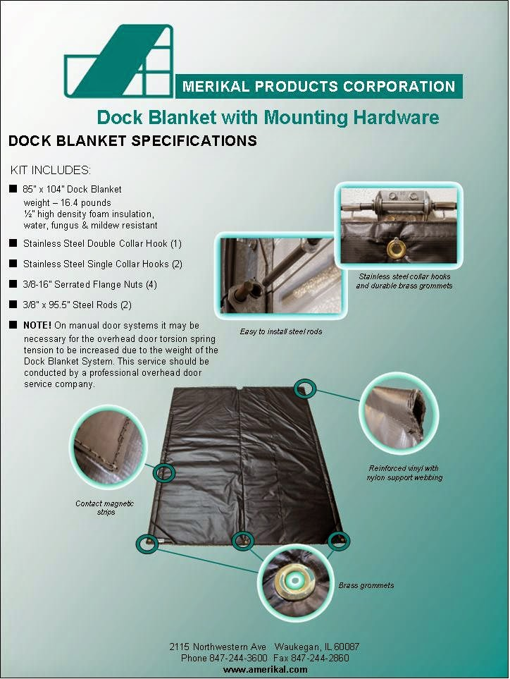 loading dock blanket