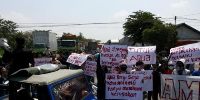 Bela Wong Cilik, NU dan GP Ansor Siap Dampingi Warga Grobogan Lawan Aqua