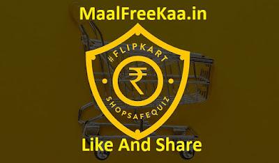 Flipkart Shop Safe Quiz Contest