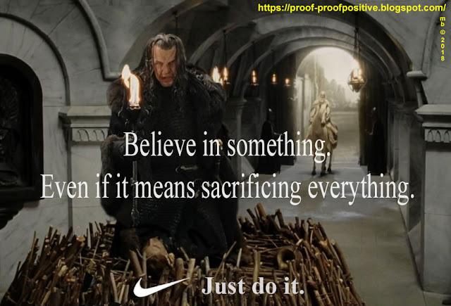 Political Clown Parade: Just Do It - Gondor Style