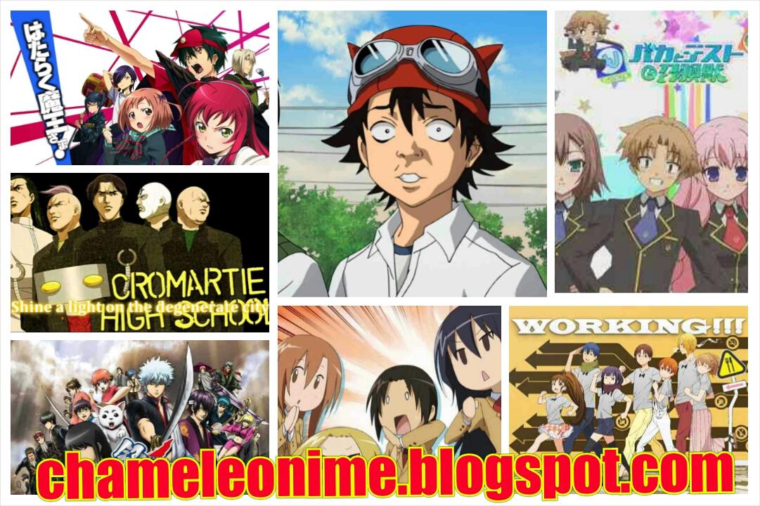 Rekomendasi Anime Genre Comedy Terbaik