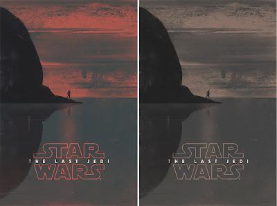 Star Wars The Last Jedi Screen Print by Patrik Svensson x Bottleneck Gallery