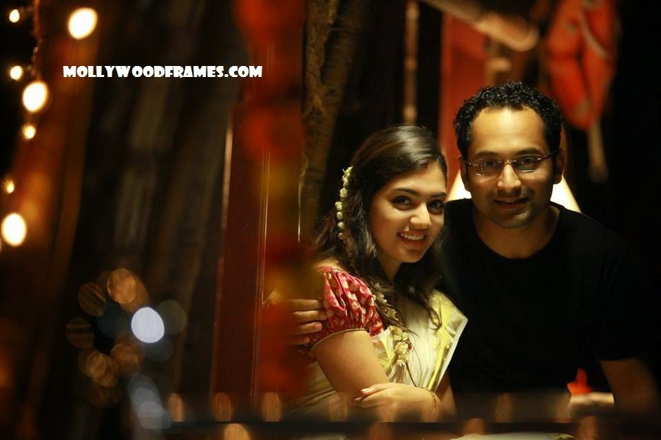 Fahadh and Nazriya in 'Bangalore Days' movie
