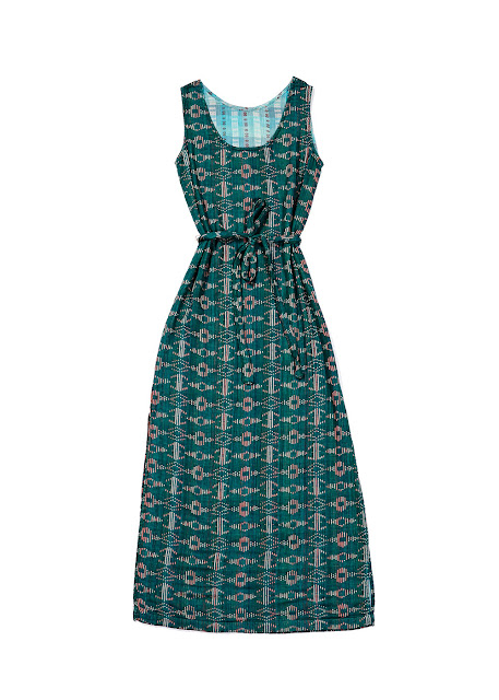 Ace & Jig Slipper Dress in Emerald