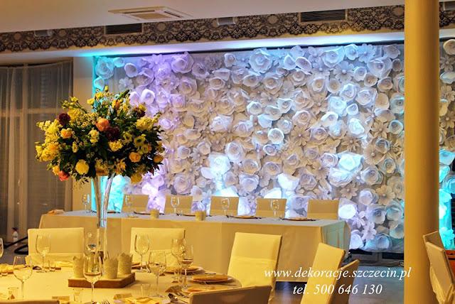 dekoracja ślubna Marenaspa Międzywodzie