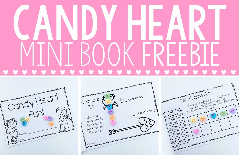 Conversation Hearts Mini Book Freebie