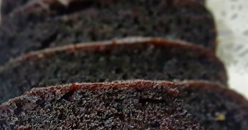 Steamed Moist Chocolate Cake
