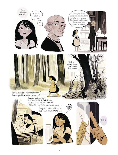 Calpurnia tome 1 de Daphné Collignon page 21 aux edtions Rue de Sèvres