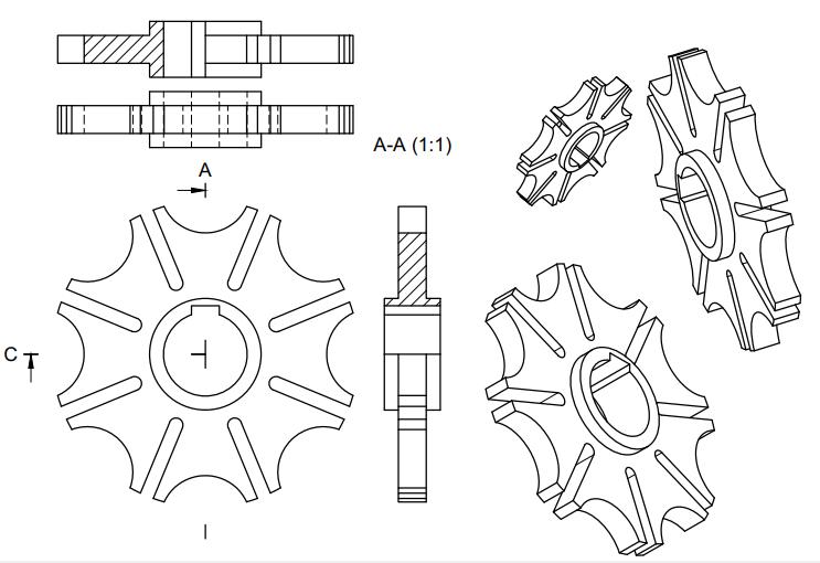 Machine Drawing: January 2019