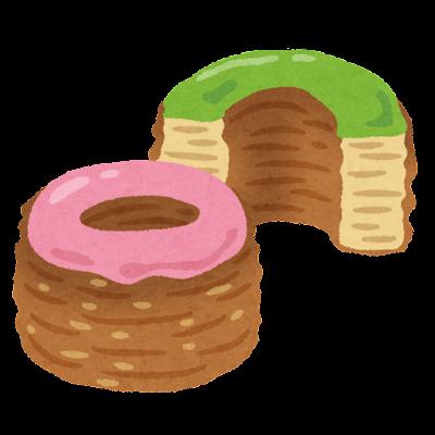 クロナッツのイラスト